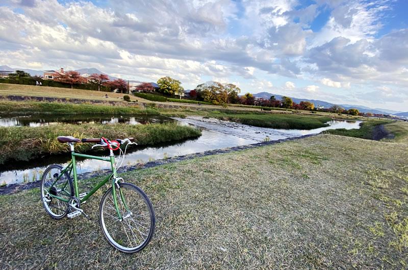 自転車は3密を避けて観光できる理想的な移動手段