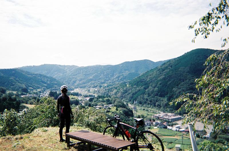 寄の展望台からの眺め(写ルンです)