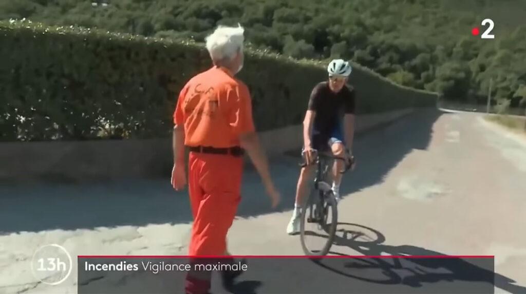 フランスのローカルTVに出演したフルームさんがひと言申したいそうです