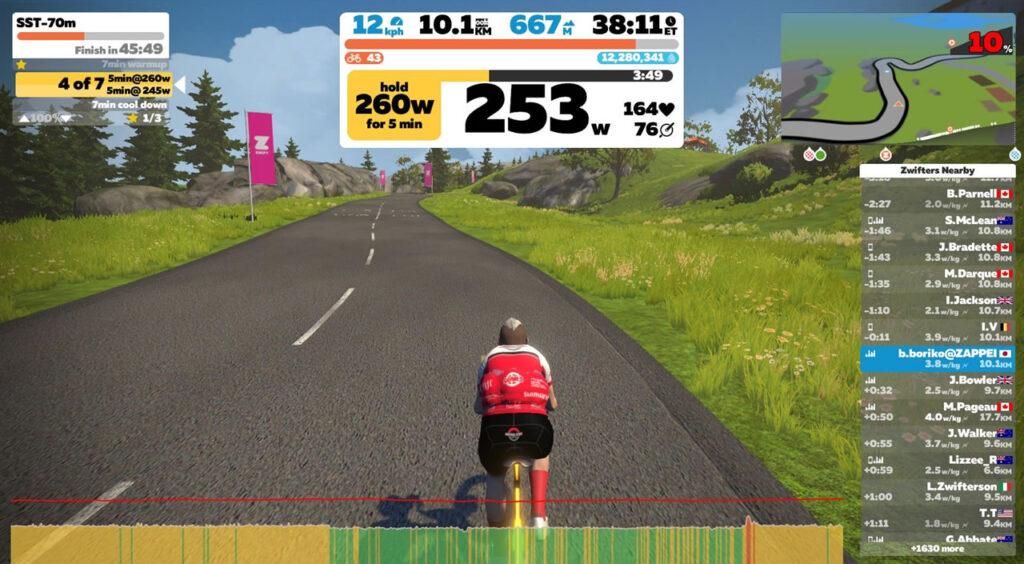 来年に向けて、ロードバイク的指標・目標値を確かめますよ!