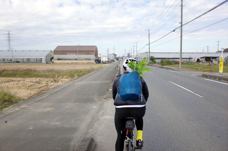 18リットル満杯にして70㎞走ったロードバイク女子