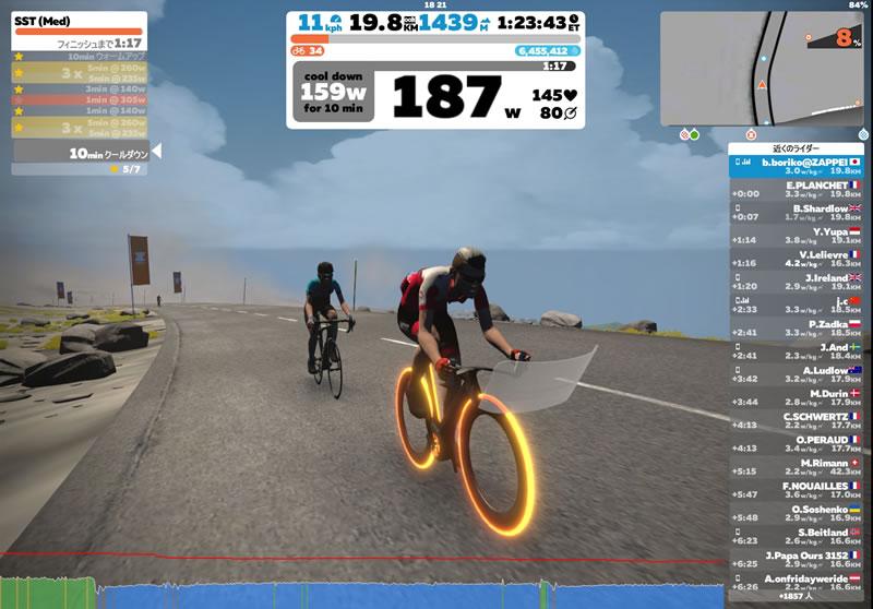 ロードバイクの超基本練習SSTに再挑戦!