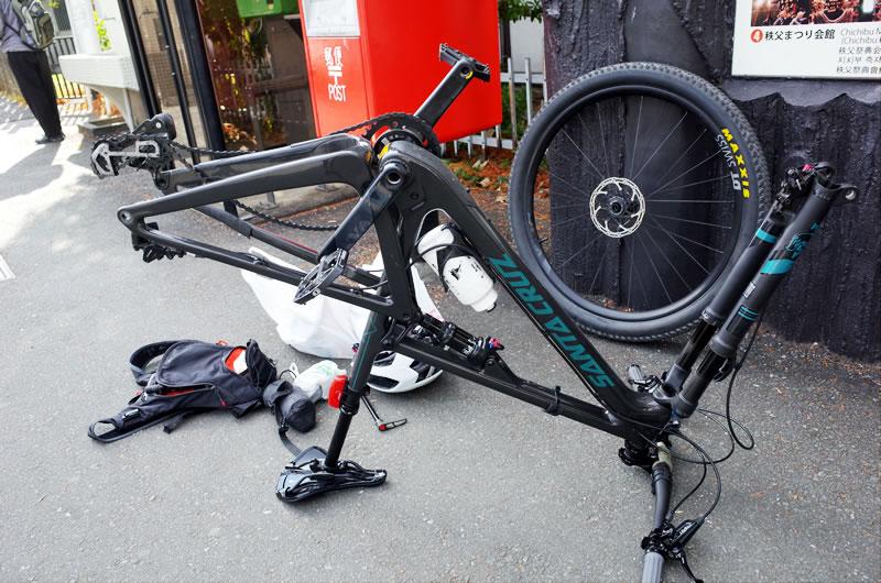 ディスクロードで輪行できるなら、マウンテンバイクでもできるに決まってる!