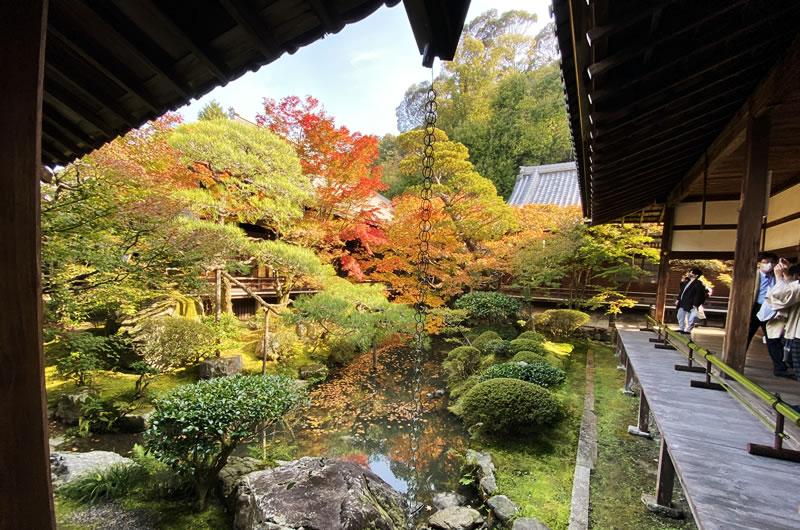 永観堂は紅葉も建物も素晴らしい