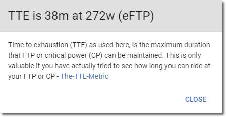 TTEは38分、272W