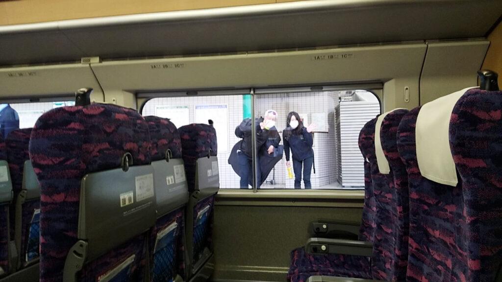 行きの電車でZAPPEIメンと出くわす(◎_◎;)