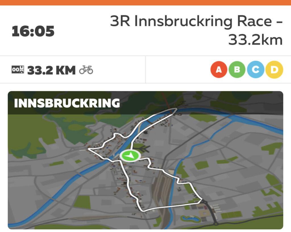 1分走の成果を確かめるべくインスブルックに兆戦