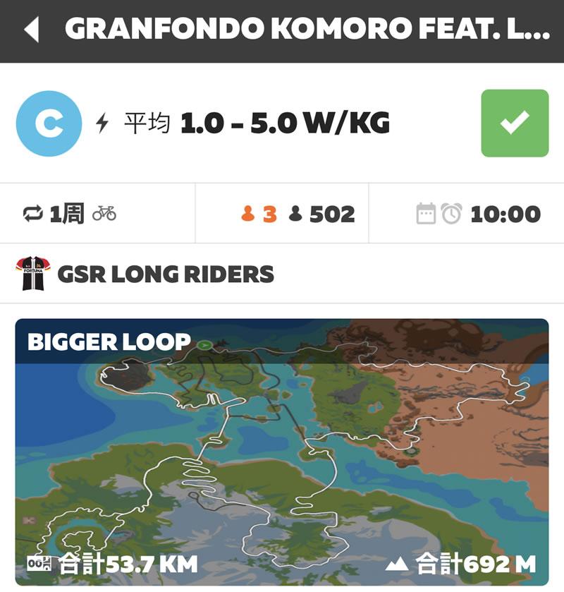GRANFONDO KOMORO feat. Long Rider Stories! Enjoy Ride 2021が大人気