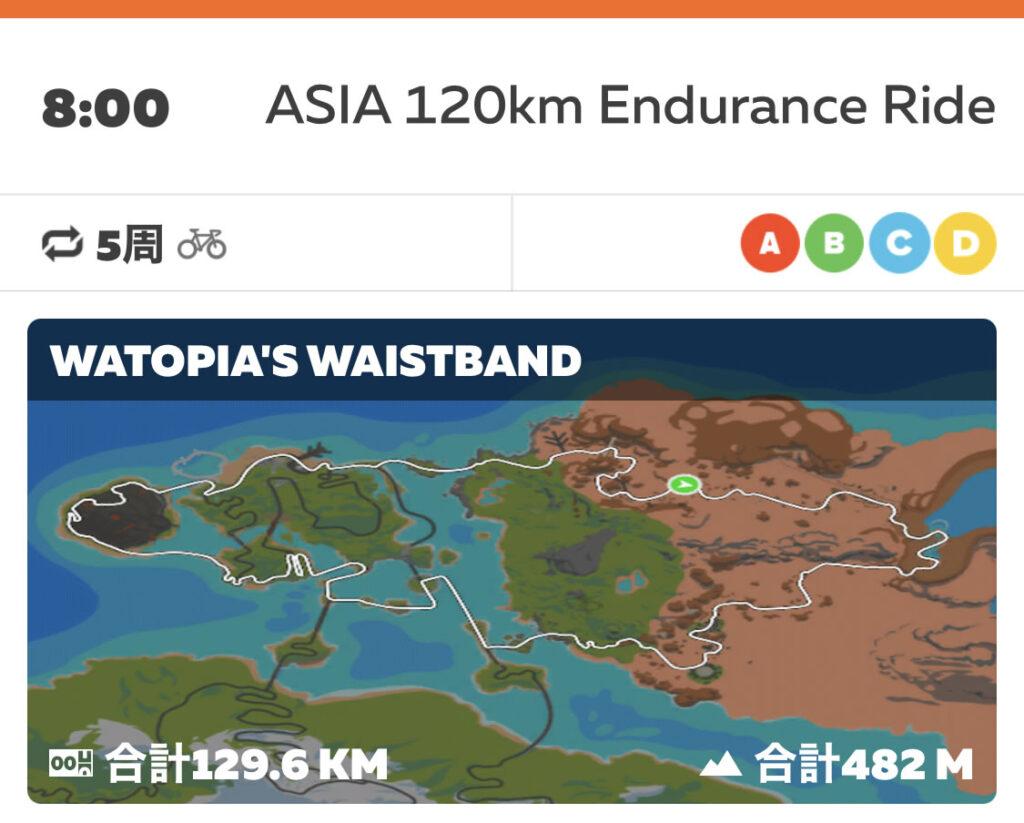 雨の土曜日のアジア120は嫌な予感しかしないけどエントリー