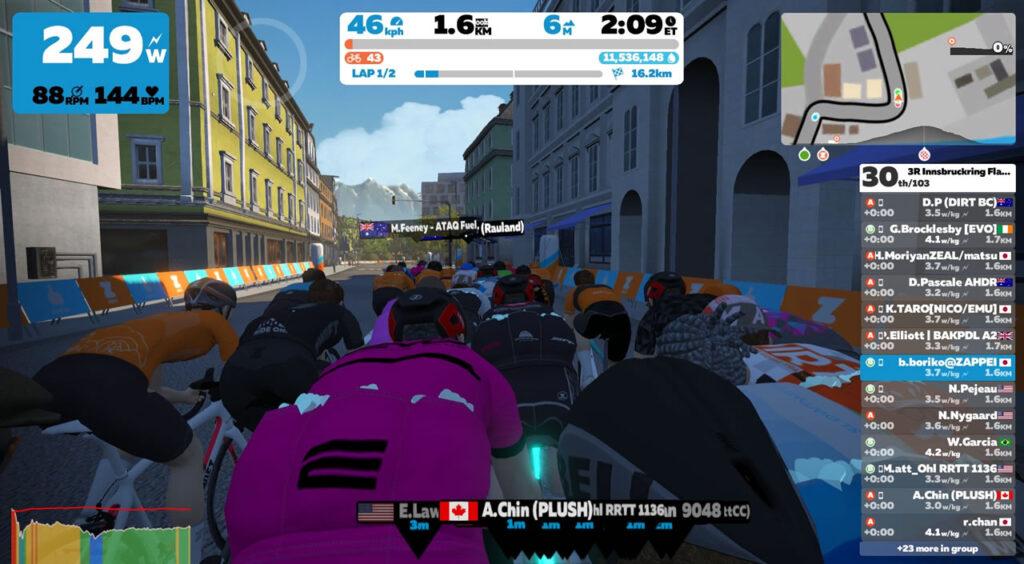 Innsbruckring のスタートはいつも控え目