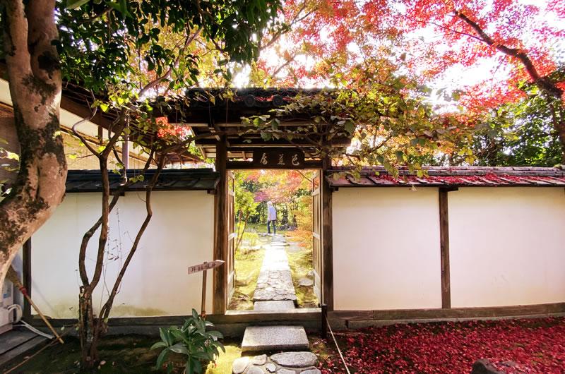 芭蕉庵で知られる金福寺