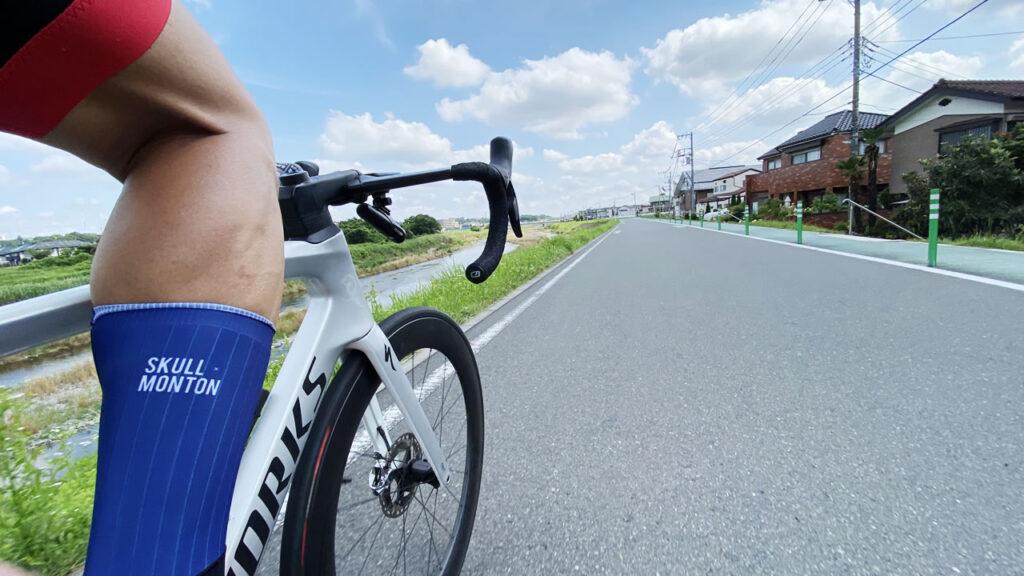 夏を感じるロードバイクだった