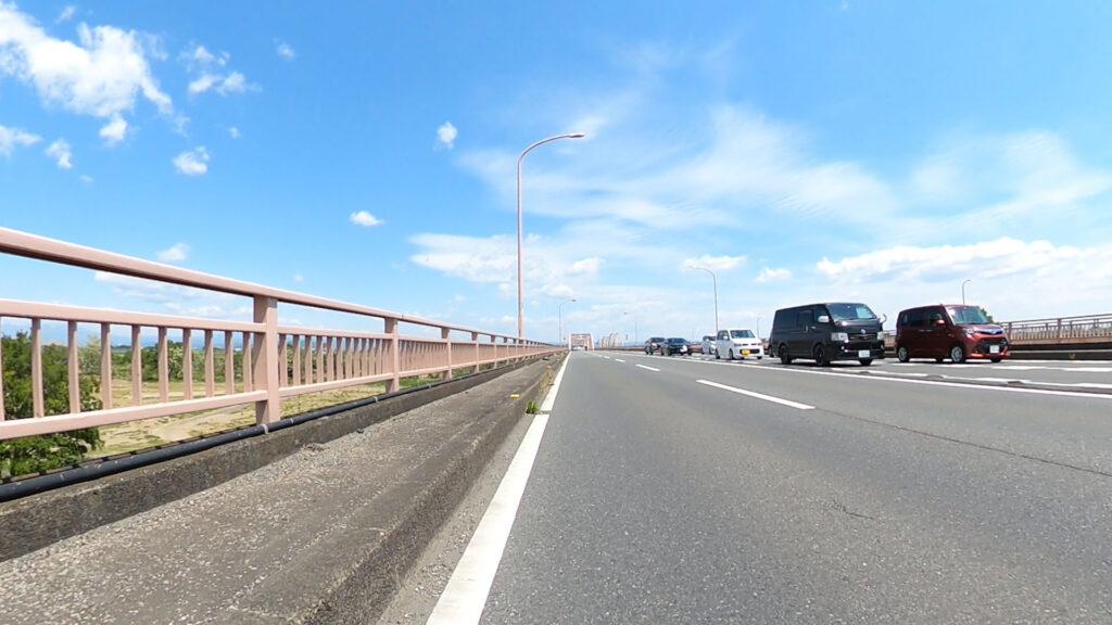 利根川の橋が怖い