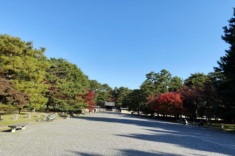 京都御所は家族連れにピッタリ