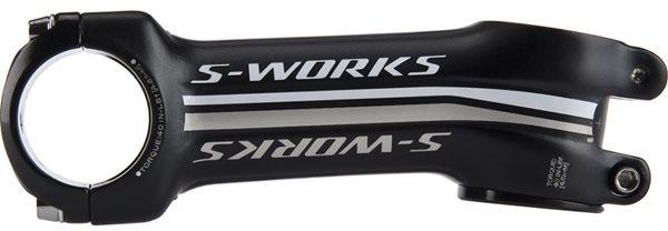 S-WORKSのステムは角度が選べてグッド!