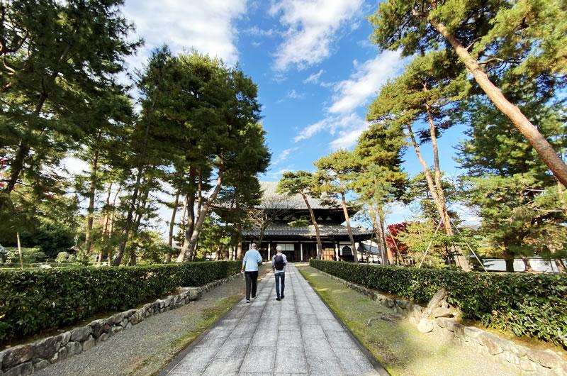 京都五山の第二位に列せられる相国寺