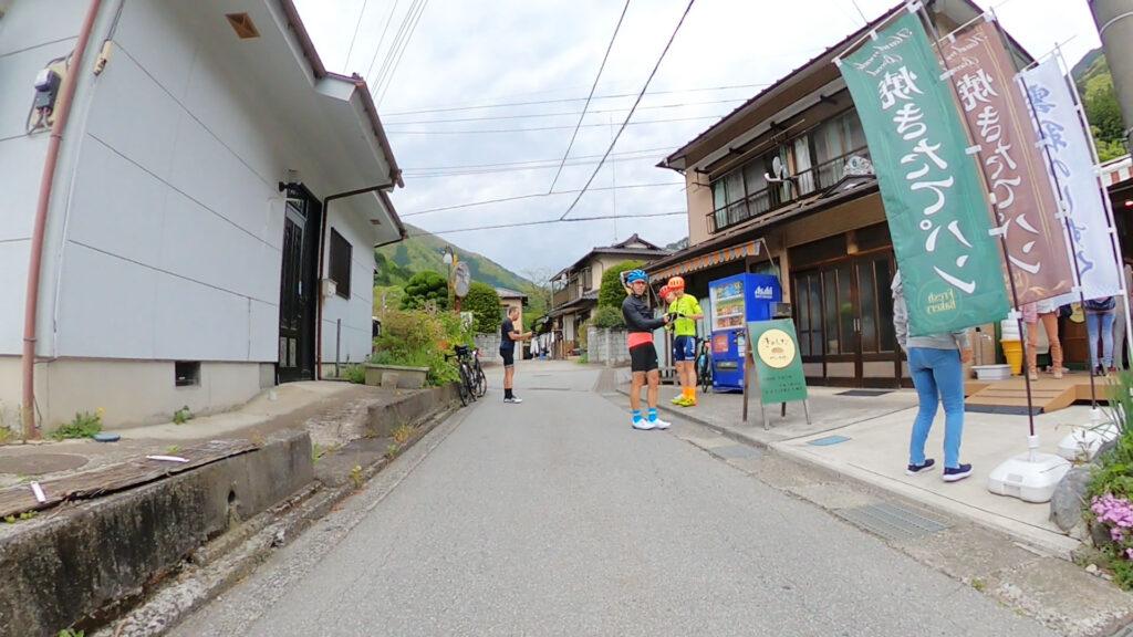 きのしたベーカリーは地元住民や自転車乗りに大人気!