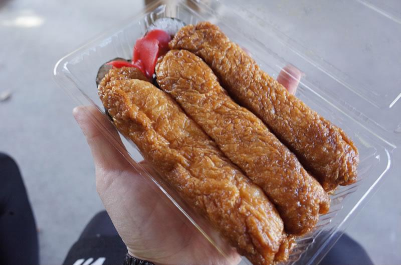 森川寿司店は稲荷寿司の専門店