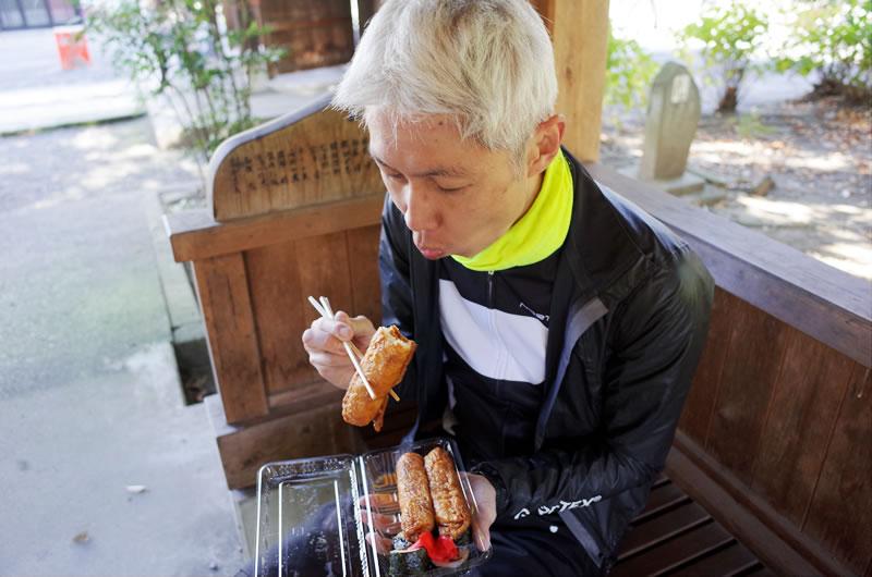 ワタクシ、稲荷寿司が大好きです(*´ω`)