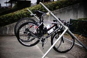 川の博物館は自転車ウェルカム!