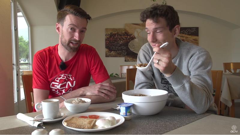 レース日の朝ごはんの食べ過ぎは禁物!