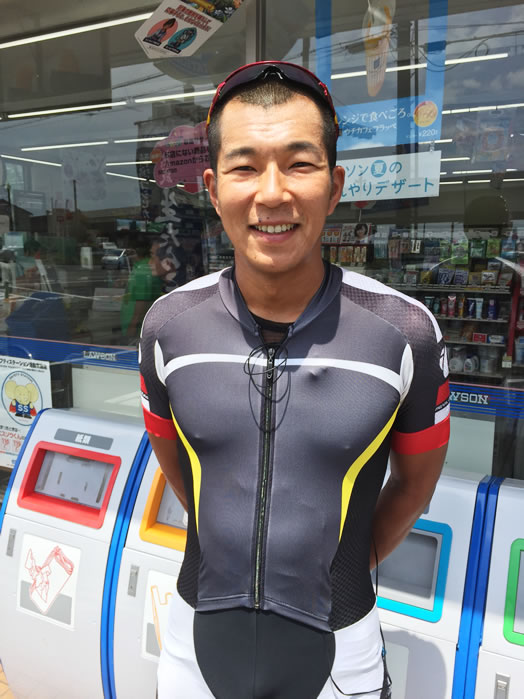 全日本チャンピオン、那須ブラーゼンの佐野淳哉選手