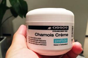 アソスのシャモアクリームを試してみた