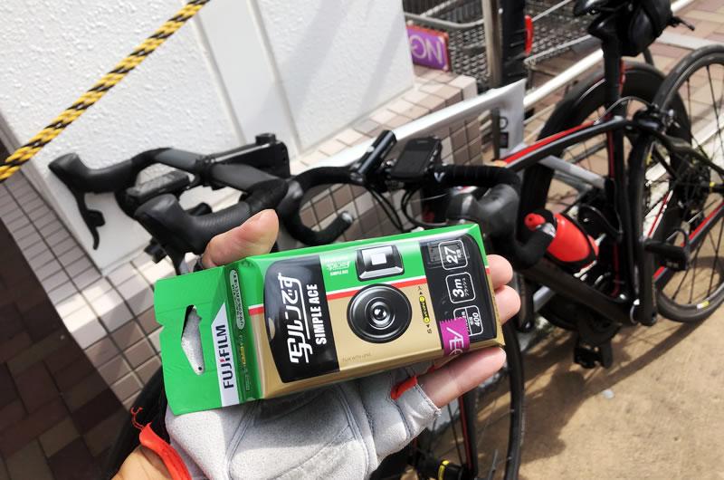 デジタルカメラの代わりにフィルムカメラで撮るサイクリング風景