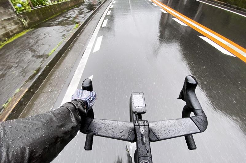 Vengeで雨に遭遇する確率がめちゃくちゃ高い