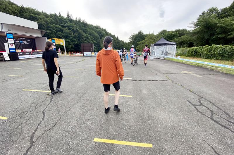 自転車イベントでもソーシャルディスタンシング