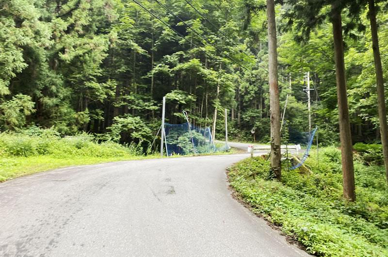 小熊山への道、10%以上は余裕であるね