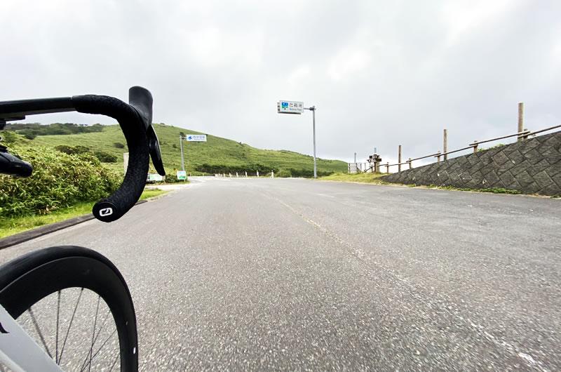 西伊豆スカイラインの終点・仁科峠に到着
