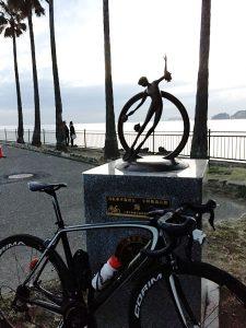 小坪飯島公園のマイルストーン<海>をゲット!