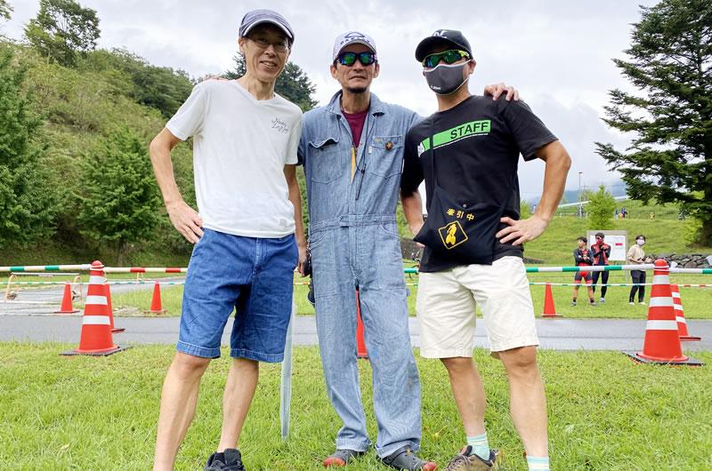 静岡からわざわざ監督も駆けつけてくれました