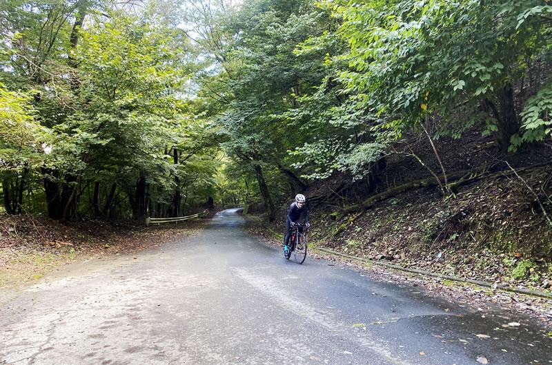笹子峠の頂上地点