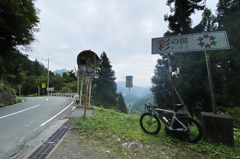 志賀坂峠までの30kmがTT強度w