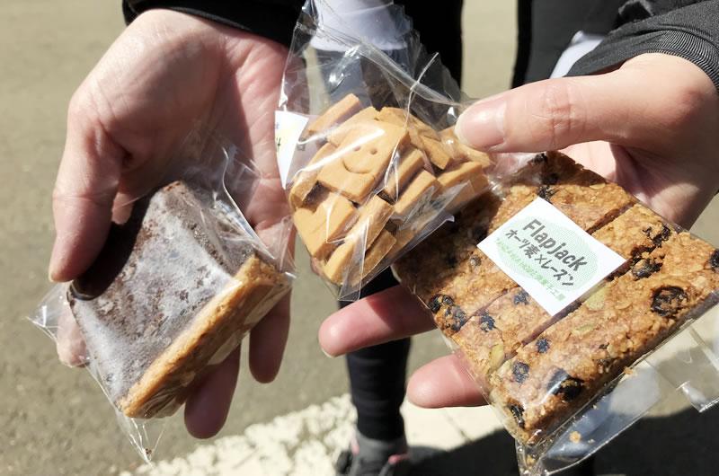 山小屋のクッキーが絶品なんです