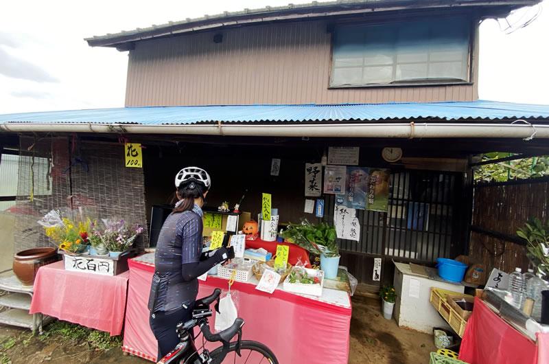 稲城の野菜を無人販売所で購入