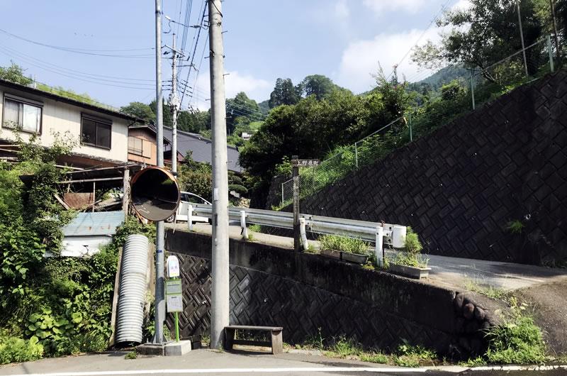 田和峠は距離短いもかなり激坂
