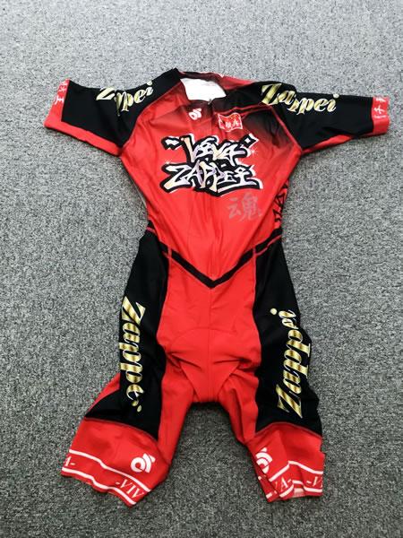 ZAPPEI印のチャンピオンシステムAPEX サマーレーススーツ