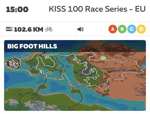 KISS 100 Race Series - EU (C)でいきなり100㎞レースに出る無謀