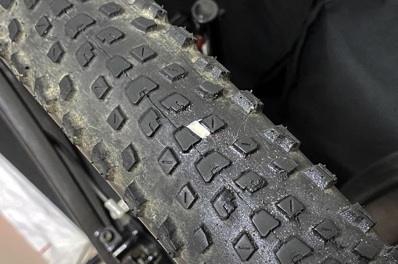 完治はしないチューブレス(レディ)タイヤのパンク