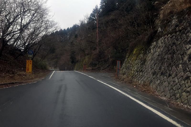 ウェットな路面はシャーベット状でした