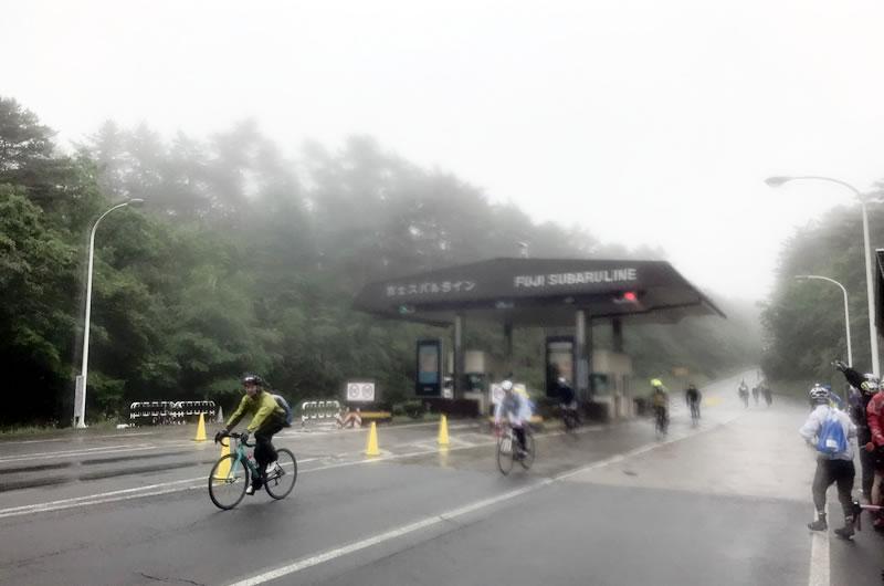 2019年の富士ヒル下山は極寒だった