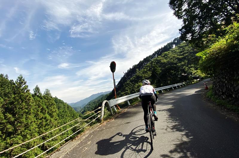 この日の時坂峠トップ3に入る速さ