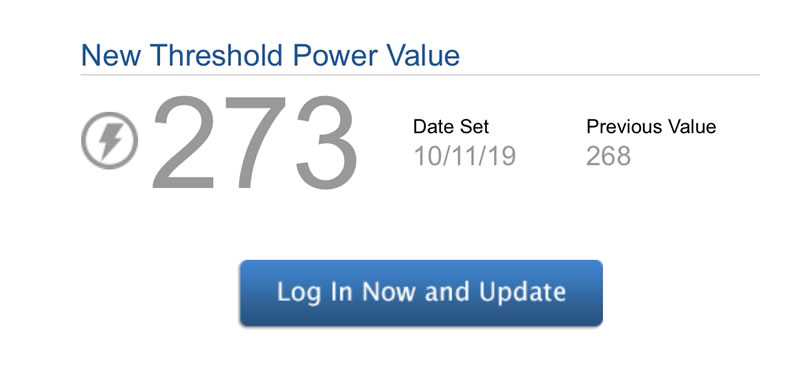 ツールドおきなわでFTPが273Wになりました