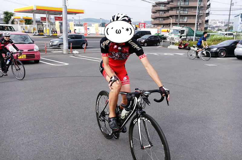 S-Works Powerにご満悦なワイ(写真:バスさん提供)