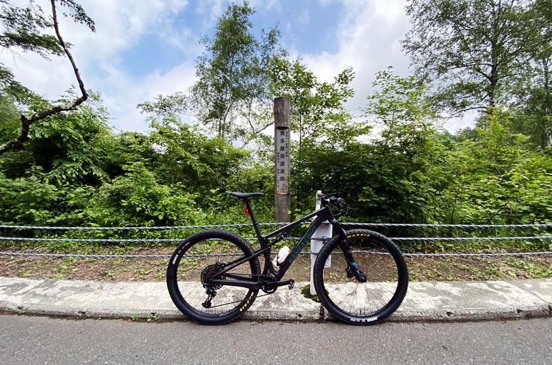 MTBで自走で風張林道に行ってみた!
