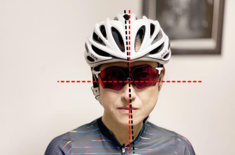 KASK MOJITOはヘルメットの先端があらぬ方向に歪んでしまうことがあったそう