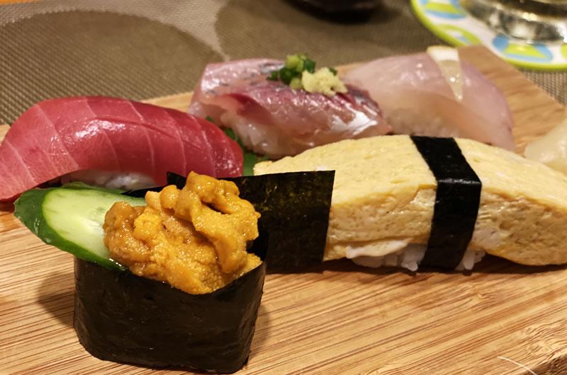 〆の寿司がこれまた超絶クオリティ